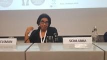 Nadia Scialabba al Congresso internazionale di biodinamica (Milano, movembre 2018)