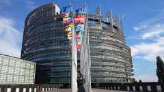 Il parlamento europeo a Strasbrugo