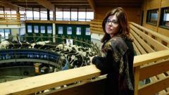 Raffaella Mellano, imprenditrice biodinamica ad Aglié, in provincia di Torino