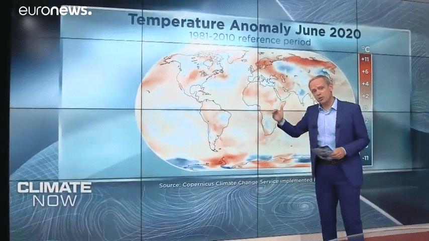 Secondo il servizio europeo Copernicus il mese quello del 2020 è stato il giugno più caldo degli ultimi 40 anni