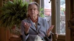 Giulia Maria Crespi, presidente onoraria del Fai e dell'Associazione per l'agricoltura biodinamica