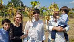 Amalia Buono e la sua famiglia