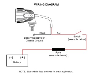 ACI OffRoad LED Lights | Instructions and Wiring Diagram