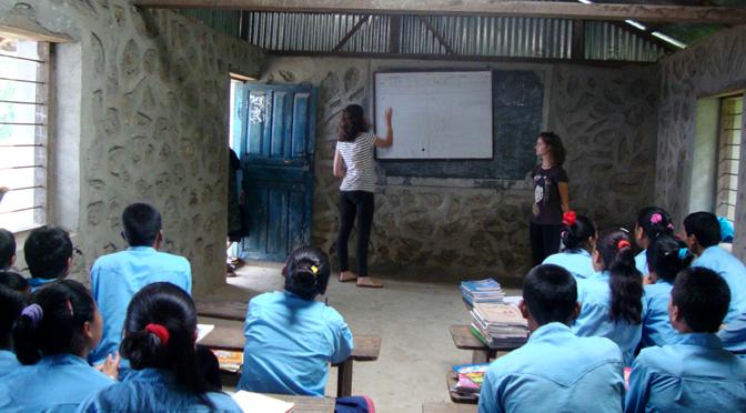 Teaching Volunteer Volunteer To Teach In Rural Schools Nepal