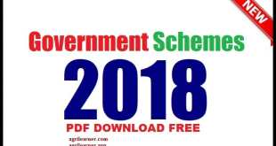 Government Schemes PDF Download