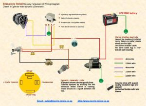 Massey Ferguson 35X | Wiring Diagram
