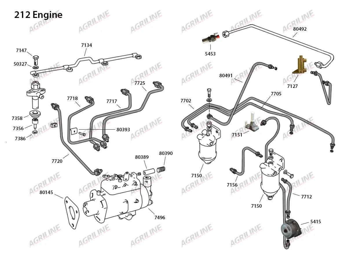 35 Massey Ferguson Engine Block | Wiring Diagram Database
