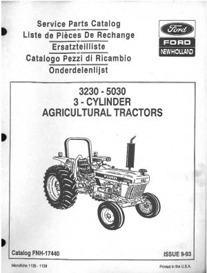 5030 Ford Tractor Parts Diagram