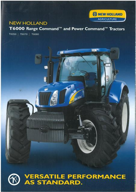 New Holland Tractor T T T Brochure