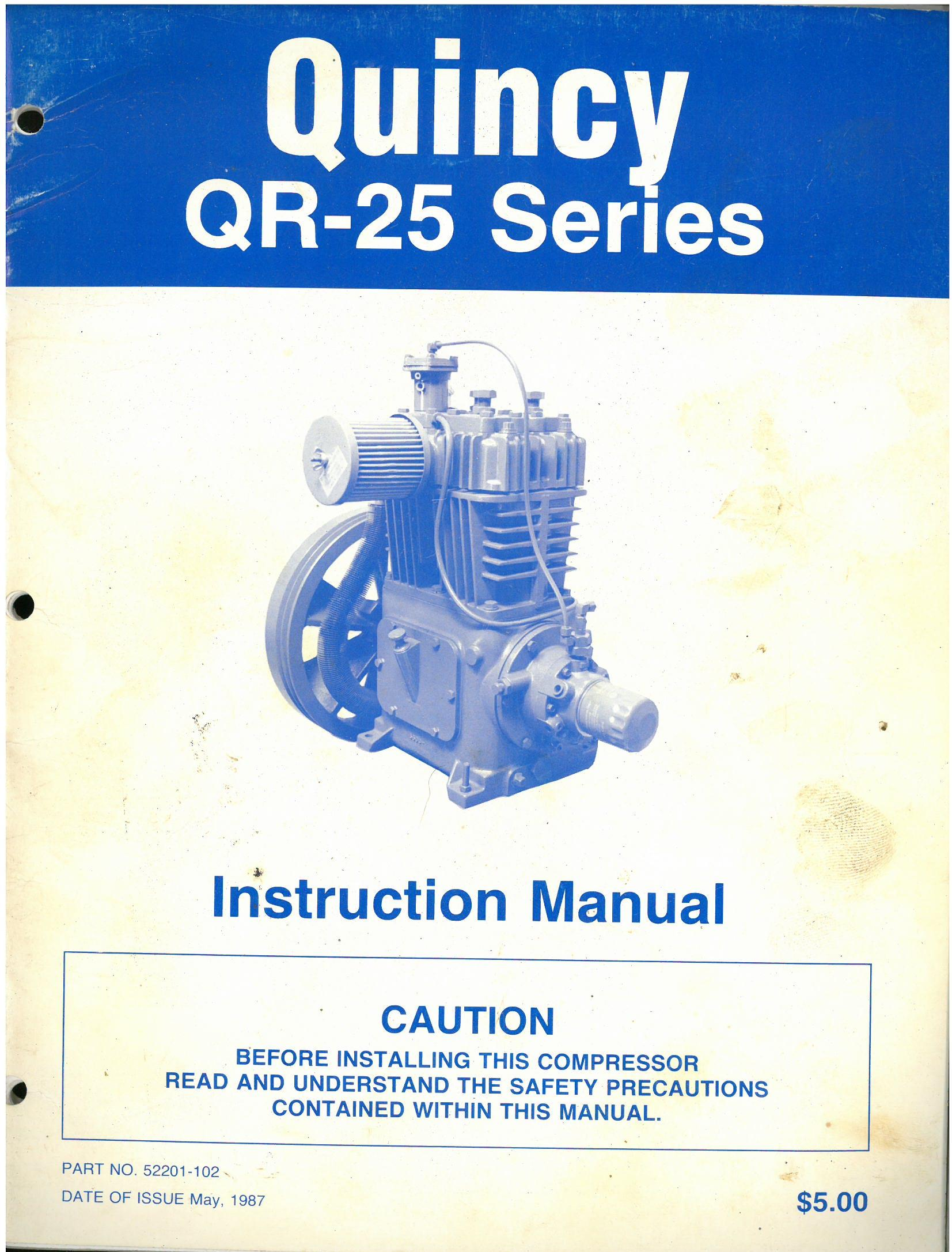 Quincy Qr 25 Series Compressor