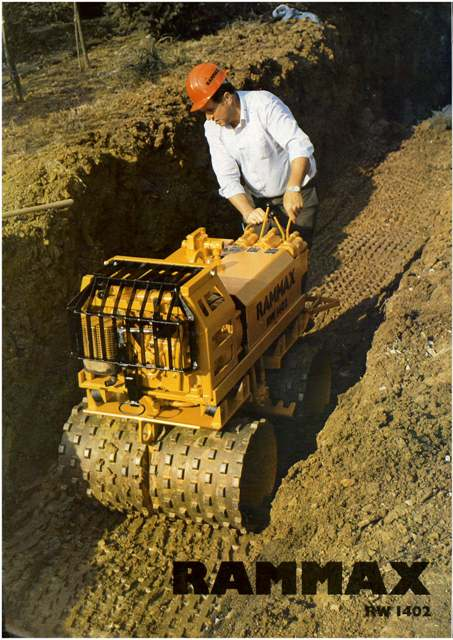 Ramax Rw1402 Trench Compactor Brochure