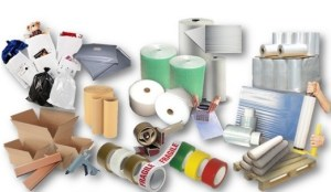 A wide range of packaging supplies