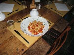 Il Ristorante - Gnocchi Caserecci al Pomodoro Fresco