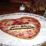 Il Ristorante Al-Marnich - Il Ristorante - Torta a Cuore x Anniversario.