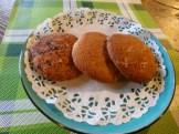 Biscotti Caserecci al Cioccolato e Mandorle