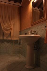 Agriturismo Colle Verde, Bagno con doccia idromassaggio