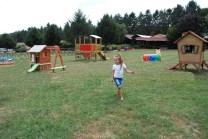 parco giochi bambina
