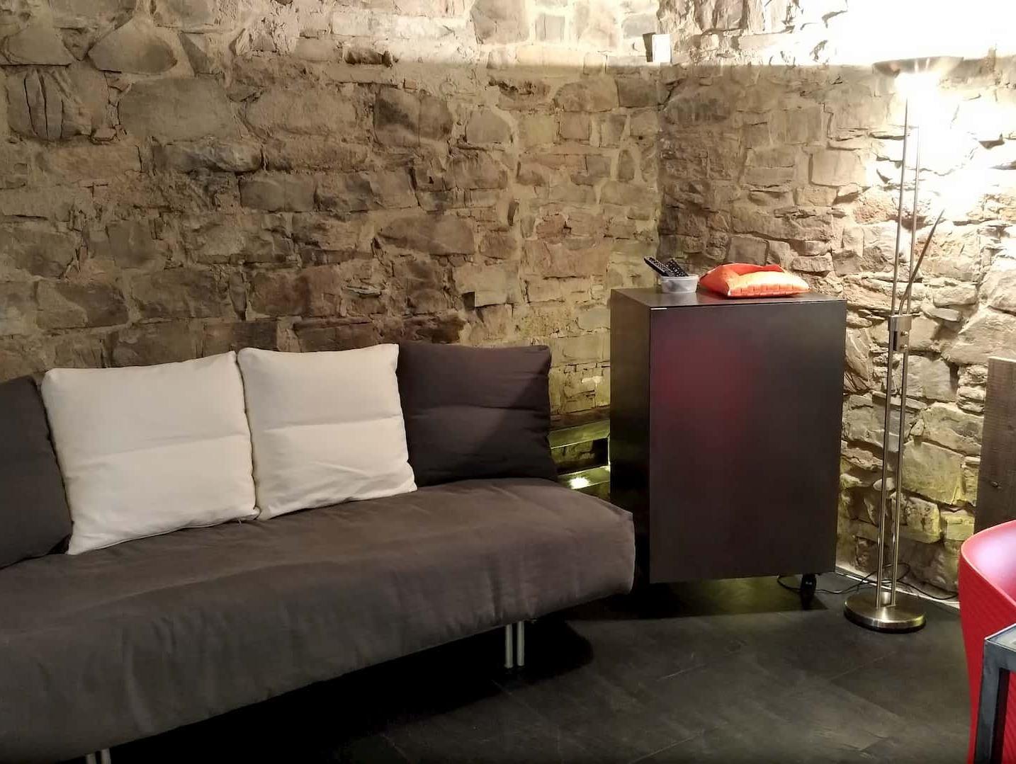 Il divano letto di Casa Baciadonne