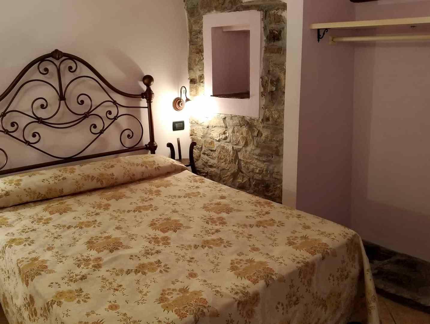 La camera da letto matrimoniale più fresca di Casa Clementi