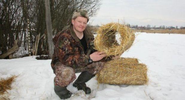 Гнездо для дикой утки