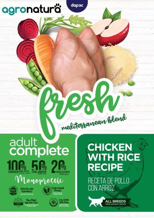 ANC Fresh Adult Complet de pollo y arroz para perros adultos