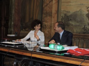 01 Luisa Todini e Massimiliano Giansanti