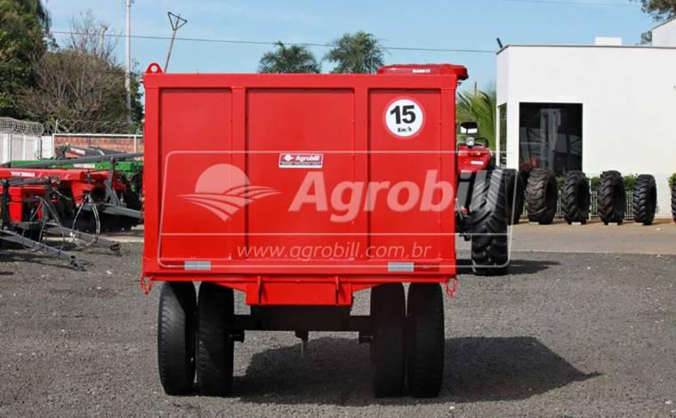 Carreta Agrícola Metálica Basculante 5.000 kg / sem Pneus – São José > Nova - Carreta Agrícola Metálica - São José - Agrobill - Tratores, Implementos Agrícolas, Pneus