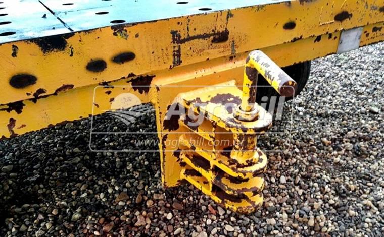 Carreta Prancha de Ferro / 8 Pneus > Usada - Carreta Agrícola - Personalizado - Agrobill - Tratores, Implementos Agrícolas, Pneus