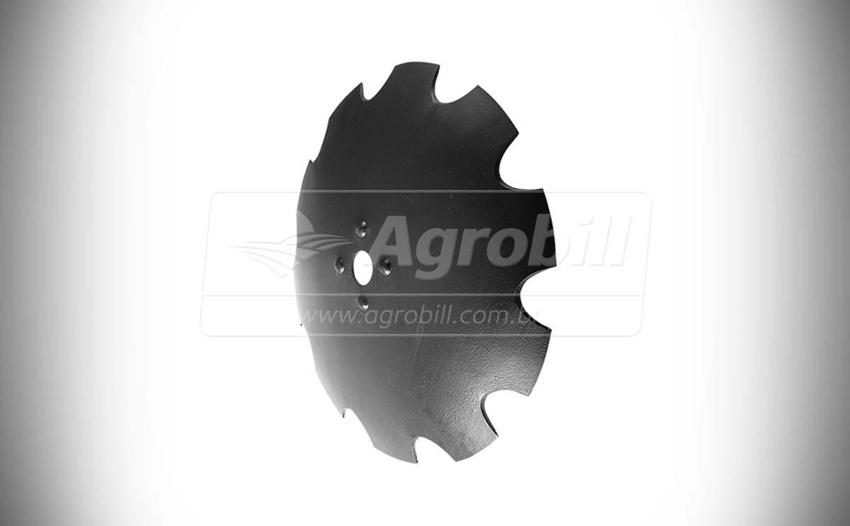 Disco Recortado 30″x 7.5 mm / Eixo 1.5/8 – Baldan > Novo - Discos e Mancais - Baldan - Agrobill - Tratores, Implementos Agrícolas, Pneus