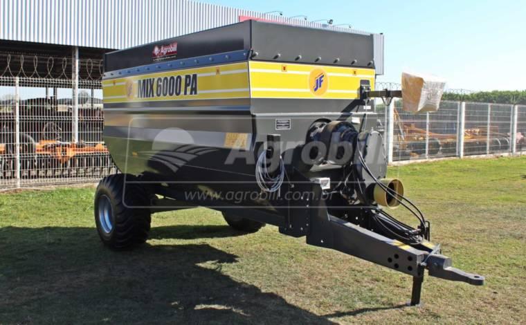 Vagão Misturador JF MIX 6000 PA / com Balança / sem Desensilador > Novo - Vagão Misturador - JF - Agrobill - Tratores, Implementos Agrícolas, Pneus