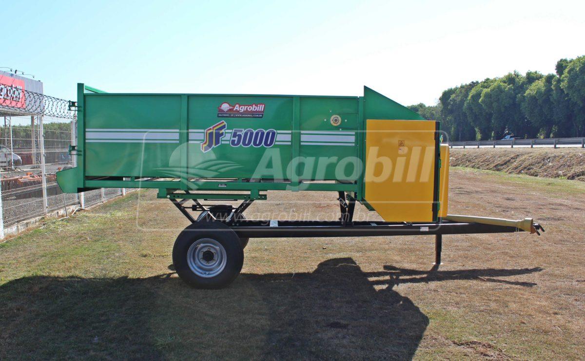 Vagão Forrageiro JF 5000 / Rodado Simples / sem Dosador > Novo - Vagão Forrageiro - JF - Agrobill - Tratores, Implementos Agrícolas, Pneus