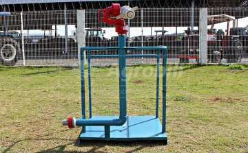 Plataforma Tubular + Canhão de 2″ – Andrade > Novo - Bomba de Água - Andrade - Agrobill - Tratores, Implementos Agrícolas, Pneus