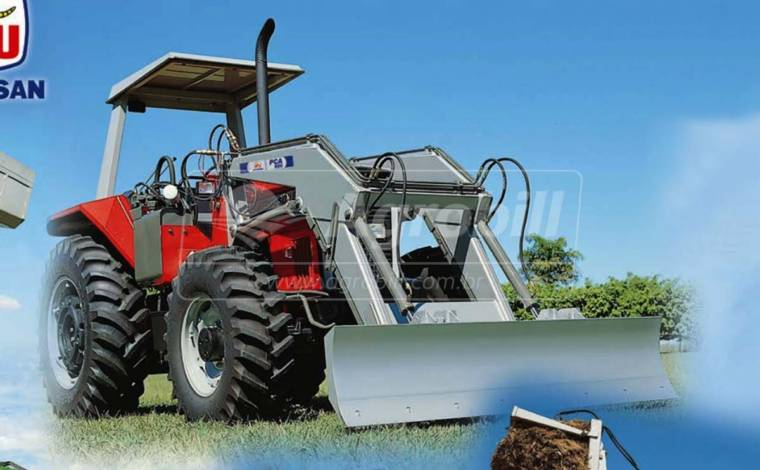 Conjunto Lâmina PCA 600 BT para Tratores Case Farmal 80 / 95 – Tatu > Novo - Conjunto para Case - Tatu Marchesan - Agrobill - Tratores, Implementos Agrícolas, Pneus