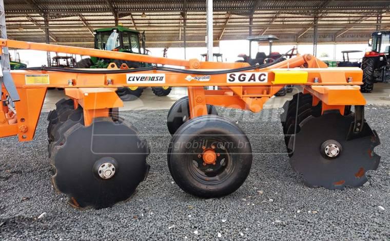 Grade Aradora Super Pesada SGAC 14 x 34″ – Civemasa > Nova - Grades Aradoras - Civemasa - Agrobill - Tratores, Implementos Agrícolas, Pneus