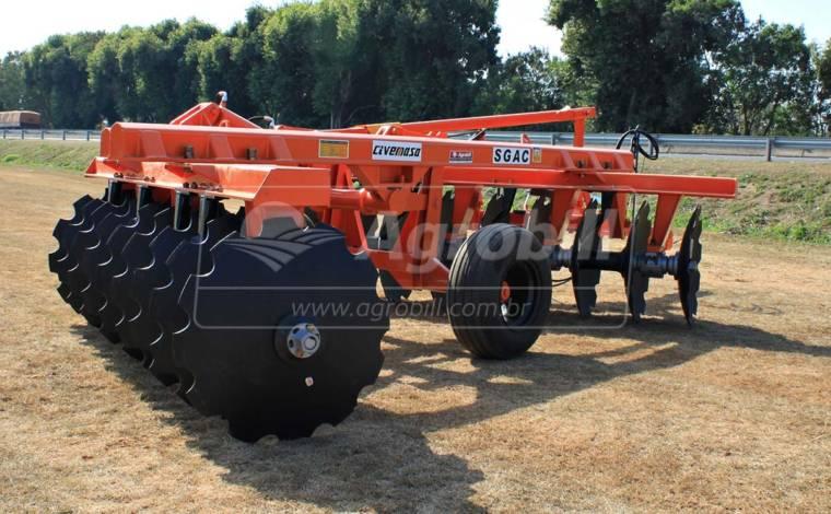 Grade Aradora Super Pesada SGAC 18 x 32″ – Civemasa > Nova - Grades Aradoras - Civemasa - Agrobill - Tratores, Implementos Agrícolas, Pneus