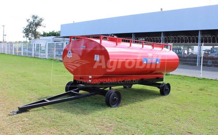 Tanque de Água 6.000 Litros / 2 Eixos / sem Pneus – Tadeu > Novo - Tanque de Água - Tadeu - Agrobill - Tratores, Implementos Agrícolas, Pneus