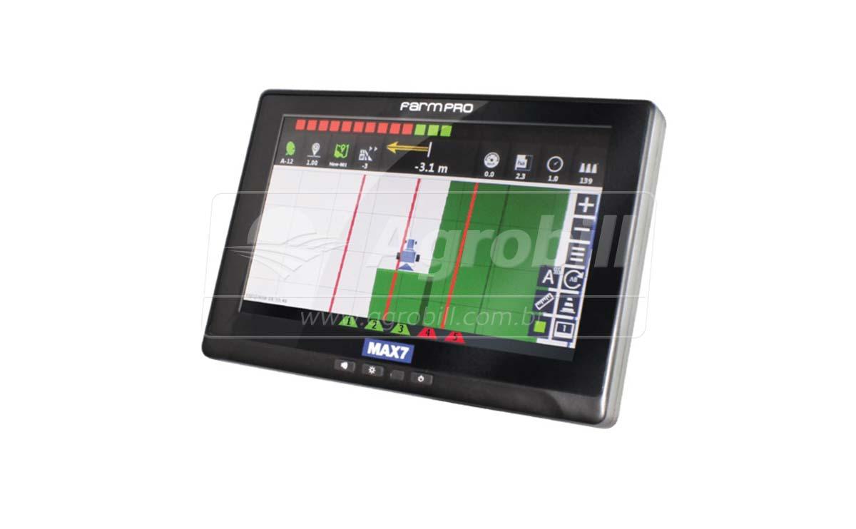 GPS Agrícola para Agricultura de Precisão FARMPRO MAX 7 - GPS Agrícola e Equipamentos - FARMPRO - Agrobill - Tratores, Implementos Agrícolas, Pneus