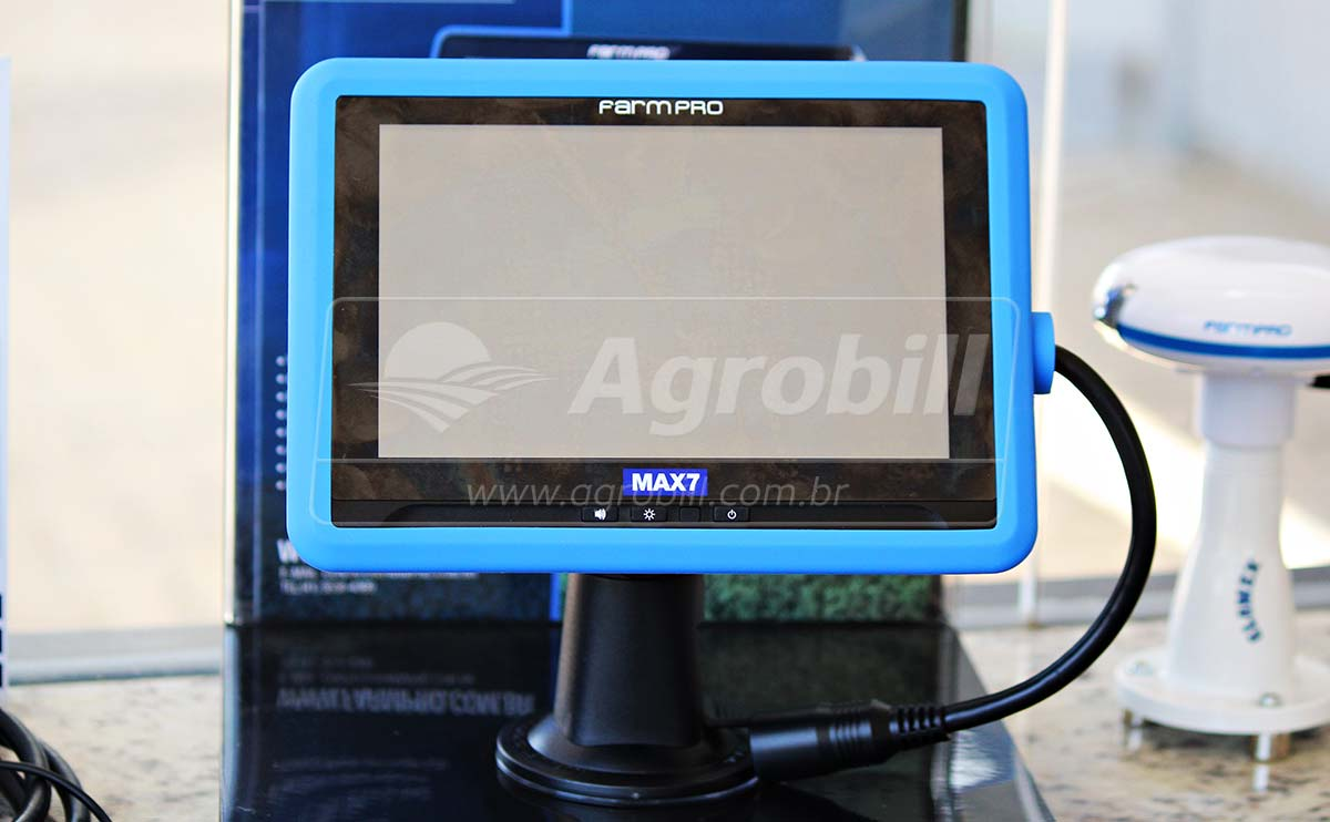 GPS Agrícola para Agricultura de Precisão FARMPRO MAX 7 *Frete Grátis para Todo Brasil* - GPS Agrícola e Medidor de Umidade - FARMPRO - Agrobill - Tratores, Implementos Agrícolas, Pneus