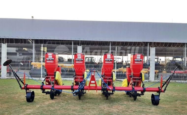 Plantadeira PLB Convencional 5 x 3800 mm / 5 Linhas com Roda de Borracha – Baldan > Nova - Plantadeiras - Baldan - Agrobill - Tratores, Implementos Agrícolas, Pneus