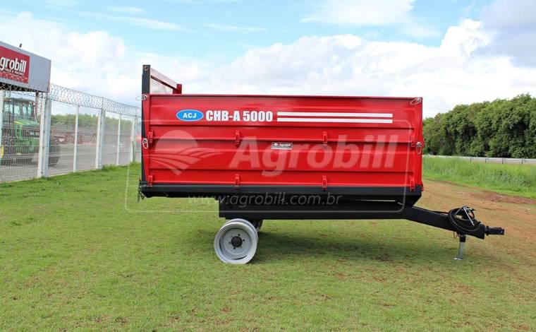 Carreta Agrícola Hidráulica CHB -A  5000 / sem Pneus – ACJ > Nova - Carreta Agrícola Metálica - ACJ - Agrobill - Tratores, Implementos Agrícolas, Pneus