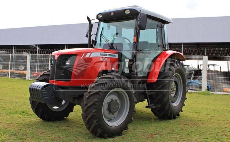 Trator Massey 4283 4×4 ano 2013 cabinado com 2541 horas - Tratores - Massey Ferguson - Agrobill - Tratores, Implementos Agrícolas, Pneus