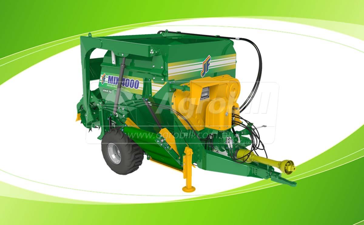 Vagão Misturador JF Mix 4000 / com Balança / com Desensilador > Novo - Vagão Misturador - JF - Agrobill - Tratores, Implementos Agrícolas, Pneus
