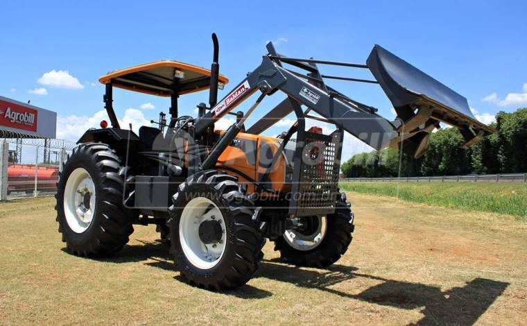 Trator Valtra A 750 4×4 ano 2013 com conjunto de lamina Baldan - Tratores - Valtra - Agrobill - Tratores, Implementos Agrícolas, Pneus