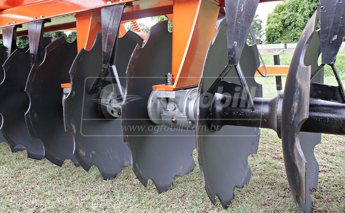 Grade Super Aradora Intermediária SAC 48 x 28″ – Civemasa > Nova - Grades Aradoras - Civemasa - Agrobill - Tratores, Implementos Agrícolas, Pneus