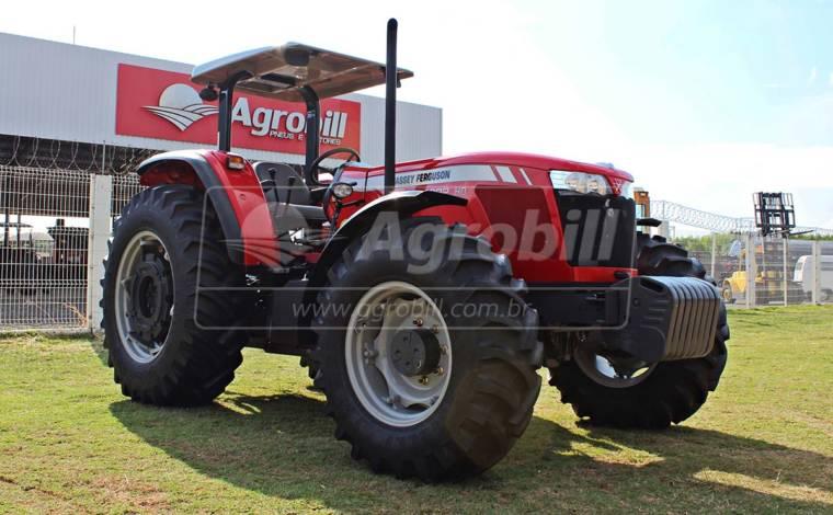 Trator Massey 4292 HD 4×4 ano 2016 modelo 2017 com apenas 187 horas de uso, seminovo. - Tratores - Massey Ferguson - Agrobill - Tratores, Implementos Agrícolas, Pneus