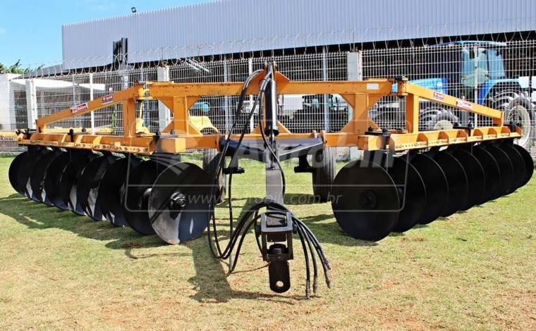 Terraceador de Arrasto TACR 18 Discos / Controle Remoto – Baldan > Usado - Terraceador - Baldan - Agrobill - Tratores, Implementos Agrícolas, Pneus