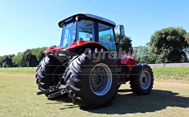 Trator MF 4292 HD 4×4 ano 2016 Cabinado - Tratores - Massey Ferguson - Agrobill - Tratores, Implementos Agrícolas, Pneus