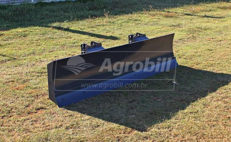 Lâmina Agrícola de 2400 mm c/ Supt. Reg. > Usada - Acessórios para Plainas Dianteiras - Personalizado - Agrobill - Tratores, Implementos Agrícolas, Pneus