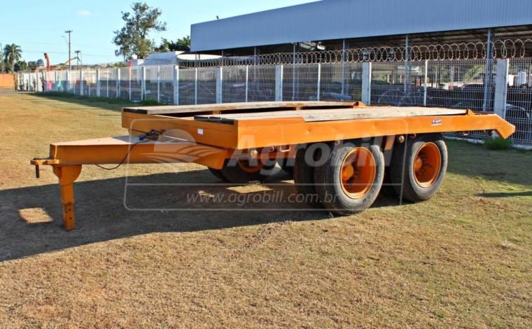 Carreta Tip Top  > Usado - Carreta Agrícola Metálica - Personalizado - Agrobill - Tratores, Implementos Agrícolas, Pneus