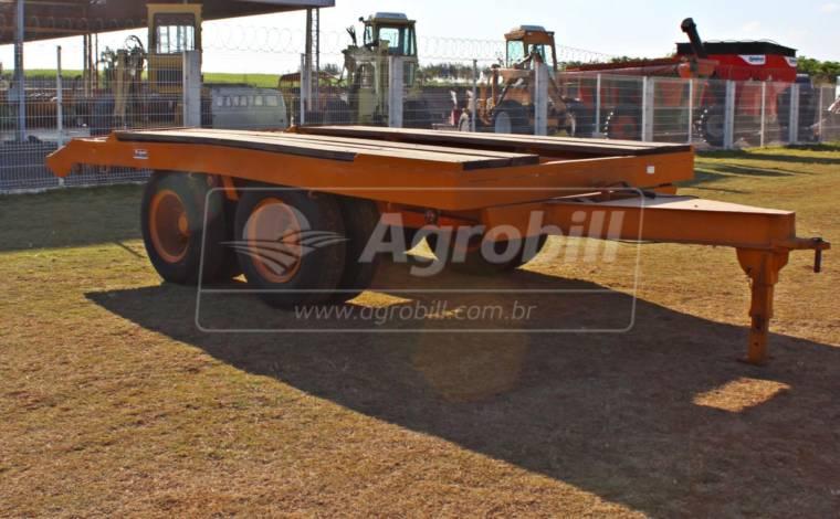 Carreta Reboque Plataforma > Usado - Carreta Agrícola Metálica - Personalizado - Agrobill - Tratores, Implementos Agrícolas, Pneus
